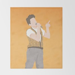 Life Moves Pretty Fast (Ferris Bueller) Throw Blanket