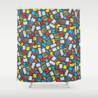 study Shower Curtains featuring Study Time by robyriker