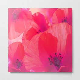 Red Poppies #decor #society6 #buyart Metal Print