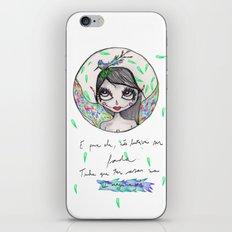 Não bastava ser Fada... iPhone & iPod Skin