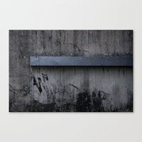 grunge Canvas Prints featuring Grunge by Brad Nightingale