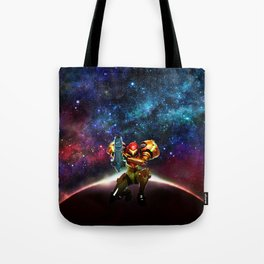 Metroid Samus Returns Tote Bag