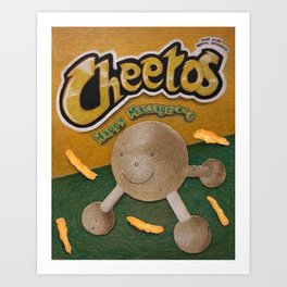 CHedda jALpenO CHeETOoooossss Art Print