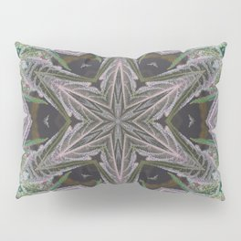 Crystal Leaf Star Pillow Sham