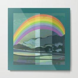 Hopeful Rainbow Metal Print