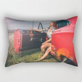 muscle car Rectangular Pillow