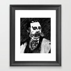 21. Zombie Chester A. Arthur  Framed Art Print