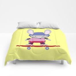 Bunny Skater Comforters