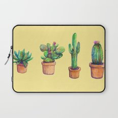 Big yellow Cactus! Laptop Sleeve
