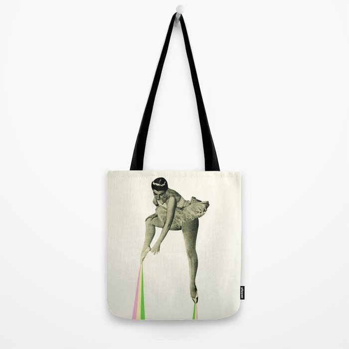 Ballet Moves Tote Bag