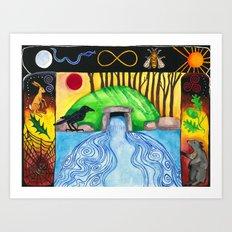 Dolmen Gateway Art Print