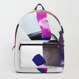 Purple Levels Backpack