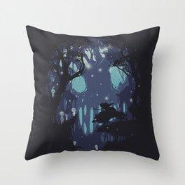 kodama Spirit Throw Pillow