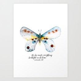 He Has Made All Things Beautiful Art Print