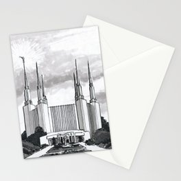 Washington D.C. Temple Stationery Cards