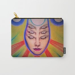 Tres Brujas Carry-All Pouch