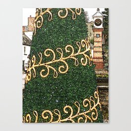 Usk Christmas Towers Canvas Print