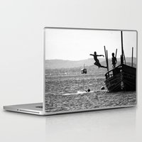 dancing Laptop & iPad Skins featuring Dancing by Eliel Freitas Jr