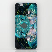 chihiro iPhone & iPod Skins featuring Chihiro Visions by Andrey Lyle