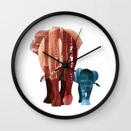 A walk together Wall Clock