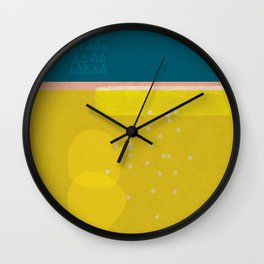 Sisi_ 3 abstract art Wall Clock