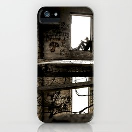 holes in the floor iPhone Case