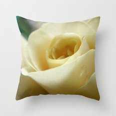 Yellow Roses #11 Throw Pillow