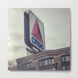 Boston Landmark - The Citgo Sign Metal Print