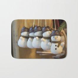 Ickle Snowmen Bath Mat