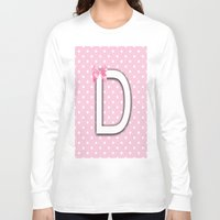 nursery Long Sleeve T-shirts featuring Alphabet Baby Nursery Pastels Colors by Ann Mary Consul Designs, Llc