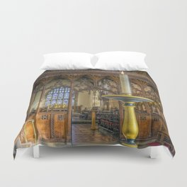 Candle Of Hope Duvet Cover