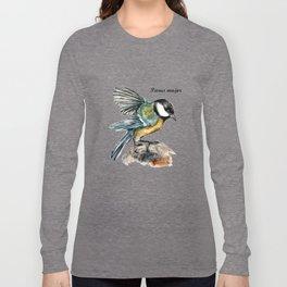 Parus Major Long Sleeve T-shirt