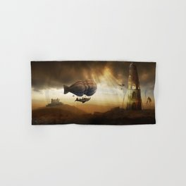 Endless Journey - steampunk artwork Hand & Bath Towel