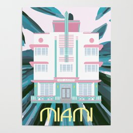 Miami Landmarks - McAlpin Poster