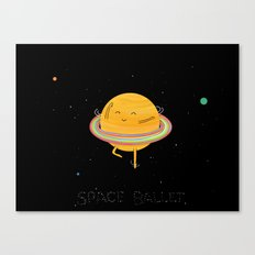 Space ballet Canvas Print