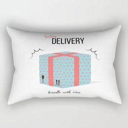 Baby delivery Rectangular Pillow