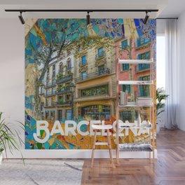 Barcelona Wall Mural