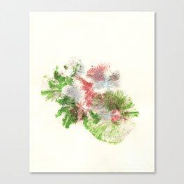 'Color Pool' (Mushroom imprints) Canvas Print