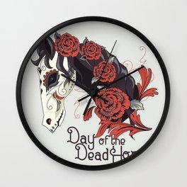 Dead Horse Wall Clock