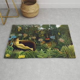 The Dream by Henri Rousseau (1910) Rug