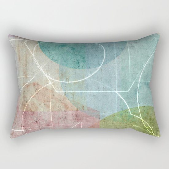 Area Map Rectangular Pillow