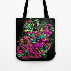GORILLA VS. ARCHITEUTHIS Tote Bag