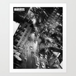 Nu Yuck City. Art Print
