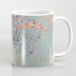 Sage Pine leaves Abstract Pattern Coffee Mug