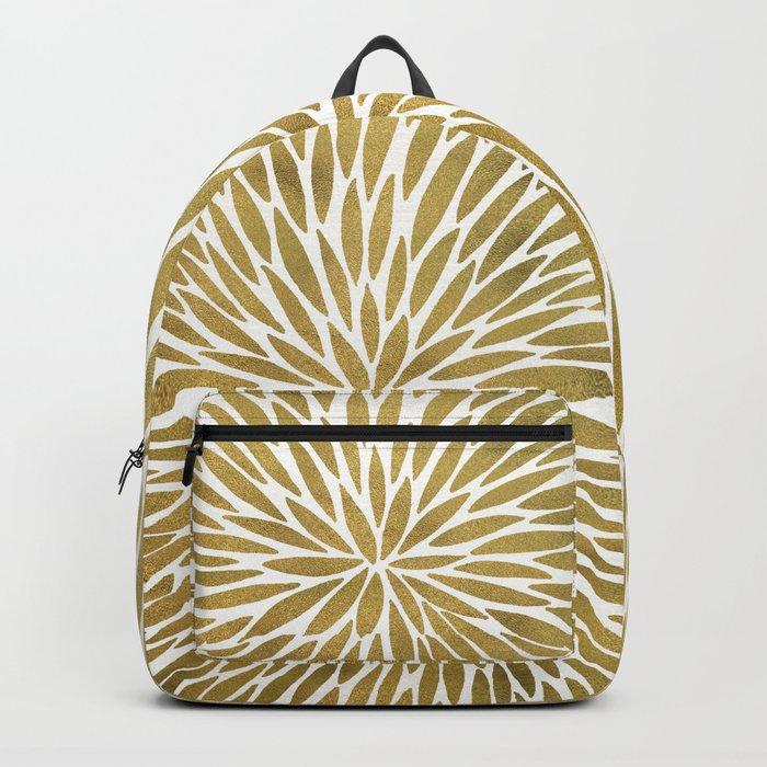 Golden Burst Backpack