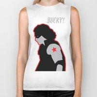 bucky barnes Biker Tanks featuring Bucky? by ElectricShotgun