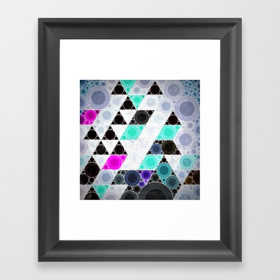 clyyrcle Framed Art Print