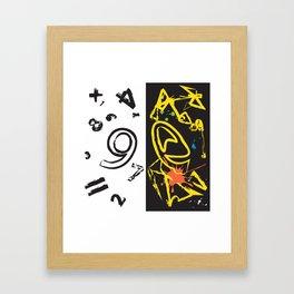 My Brain Framed Art Print