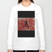 cowboy Long Sleeve T-shirts featuring cowboy by Saleem007