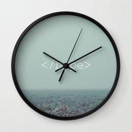 </hope> Wall Clock